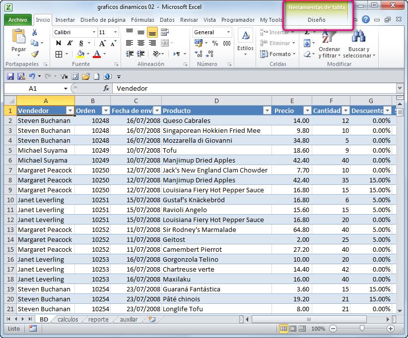 opus matica elegir entre un sistema de gestión de bases de datos